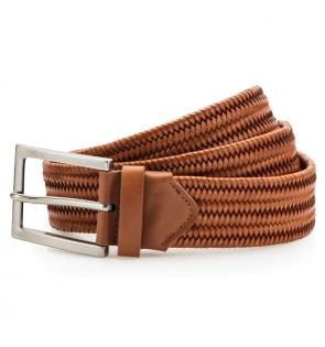AQ903 Leather braid belt