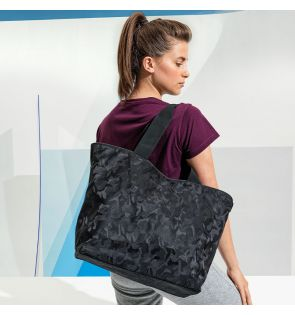 TR095 TriDri® camo shoulder/tote bag