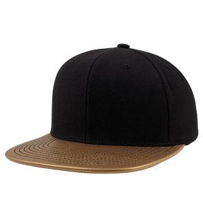 YP024 Metallic visor snapback (6089PU)
