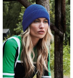 Beechfield Engineered Knit Ribbed Beanie