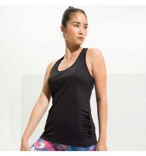 TR042 Women's TriDri® yoga knot vest