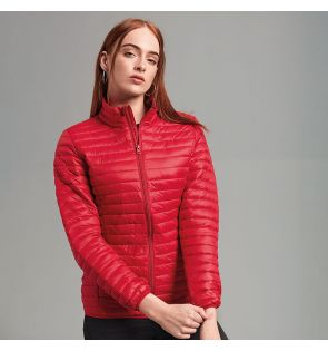 TS18F Women's tribe fineline padded jacket
