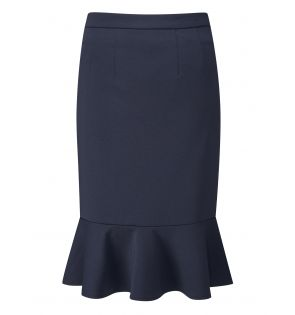 ADLINGTON FLUTED PENCIL SKIRT