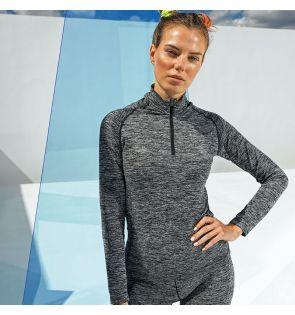 TR205 Women's TriDri® seamless '3D fit' multi-sport performance zip top