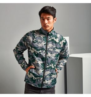 TS011 Contrast lightweight jacket