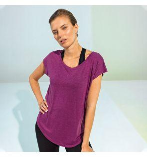 TR045 Women's TriDri® yoga cap sleeve top