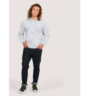 UC504 Adults Classic Full Zip Hooded Sweatshirt