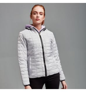 TS23F Women's honeycomb hooded jacket