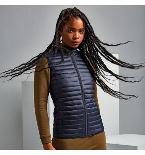 TS19F Women's tribe fineline padded gilet