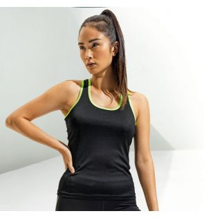 TR023 Women's TriDri® panelled fitness vest