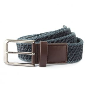 AQ905 Men's vintage wash canvas belt
