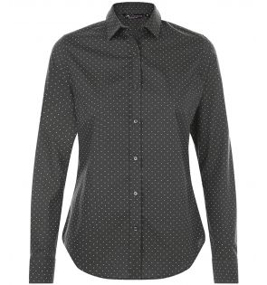 SOL'S Ladies Becker Polka Dot Long Sleeve Poplin Shirt