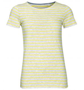 SOL'S Ladies Miles Striped T-Shirt