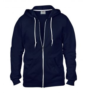 Anvil Fashion Full Zip Hooded Sweatshirt