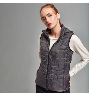 TS24F Women's honeycomb hooded gilet