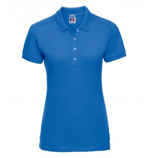 Russell Ladies Stretch Piqué Polo Shirt