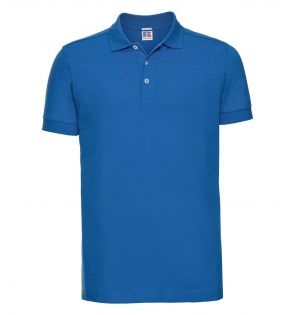 Russell Stretch Piqué Polo Shirt