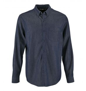 SOL'S Barry Long Sleeve Denim Shirt