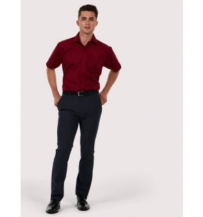 UC710 Mens Poplin Half Sleeve Shirt