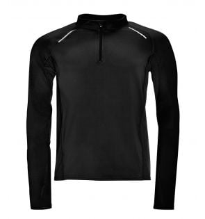 SOL'S Berlin Long Sleeve Zip Neck Running Top