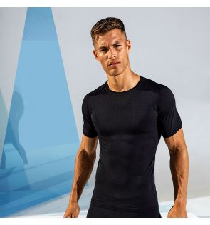 TR201 TriDri® Seamless '3D fit' multi-sport performance short sleeve top