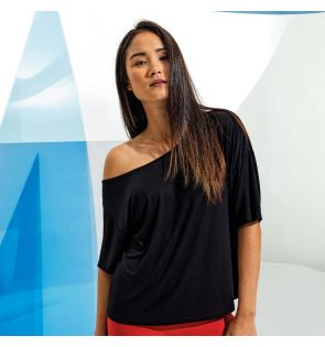 TR047 Women's TriDri® off-the-shoulder top