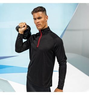 TR110 TriDri® long sleeve performance ¼ zip