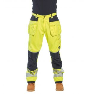 Portwest PW3 Hi-Vis Trousers