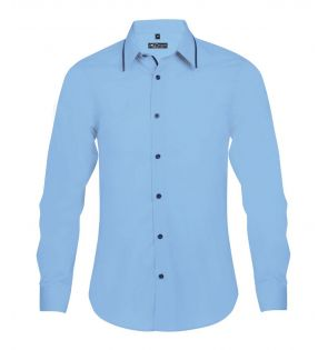 SOL'S Baxter Long Sleeve Contrast Fitted Shirt