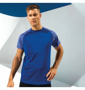 TR018 TriDri® contrast sleeve performance t-shirt
