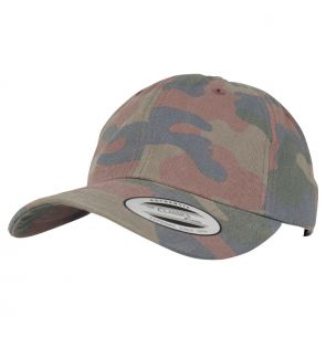 YP030 Low-profile cotton camo cap (6245FC)