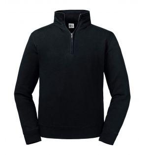 Russell Authentic Zip Neck Sweatshirt