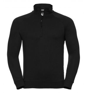 Russell HD Zip Neck Sweatshirt