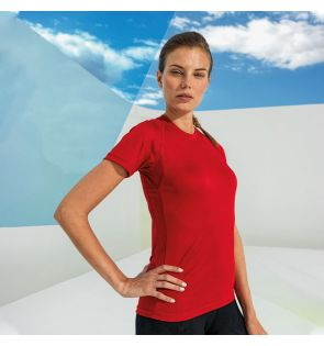 TR021 Women's TriDri® panelled tech tee