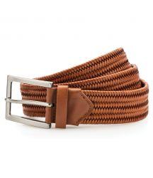 AQ903 Leather braid belt