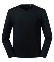 Russell Pure Organic Long Sleeve T-Shirt