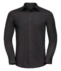 Russell Collection Long Sleeve Tailored Poplin Shirt