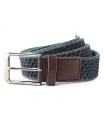 AQ905 Men's vintage wash canvas belt