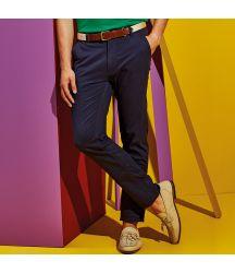 AQ052 Men's slim fit cotton chinos