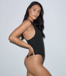 American Apparel Ladies Tank Thong Bodysuit