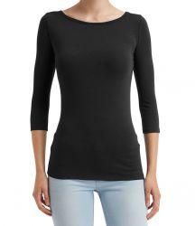 Anvil Ladies Stretch 3/4 Sleeve T-Shirt