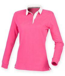 Front Row Ladies Premium Superfit Rugby Shirt