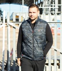 Lee Cooper Camo Padded Gilet