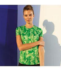 TR025 Women's TriDri® Hexoflage® performance t-shirt
