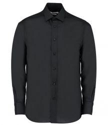 Kustom Kit Long Sleeve Tailored Business Shirt